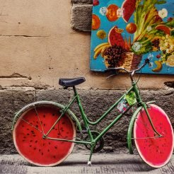 Customised bicycle