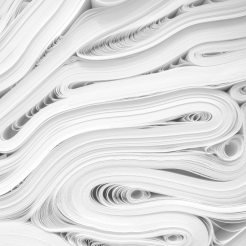 Reams of paper stacked on top of each other