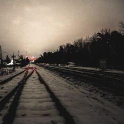 Railway tracks illustrating Ruby on Rails software development